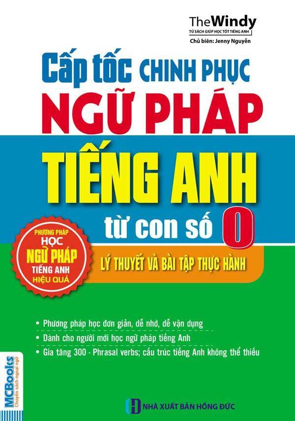 Mua Cấp tốc chinh phục ngữ pháp tiếng Anh từ con số 0 - Jenny Nguyễn