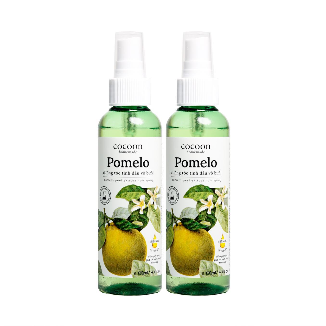 Liệu Trình 1 Tháng Dùng 2 chai xịt tóc Pomelo Dưỡng Tóc Tinh Dầu Vỏ Bưởi nhập khẩu