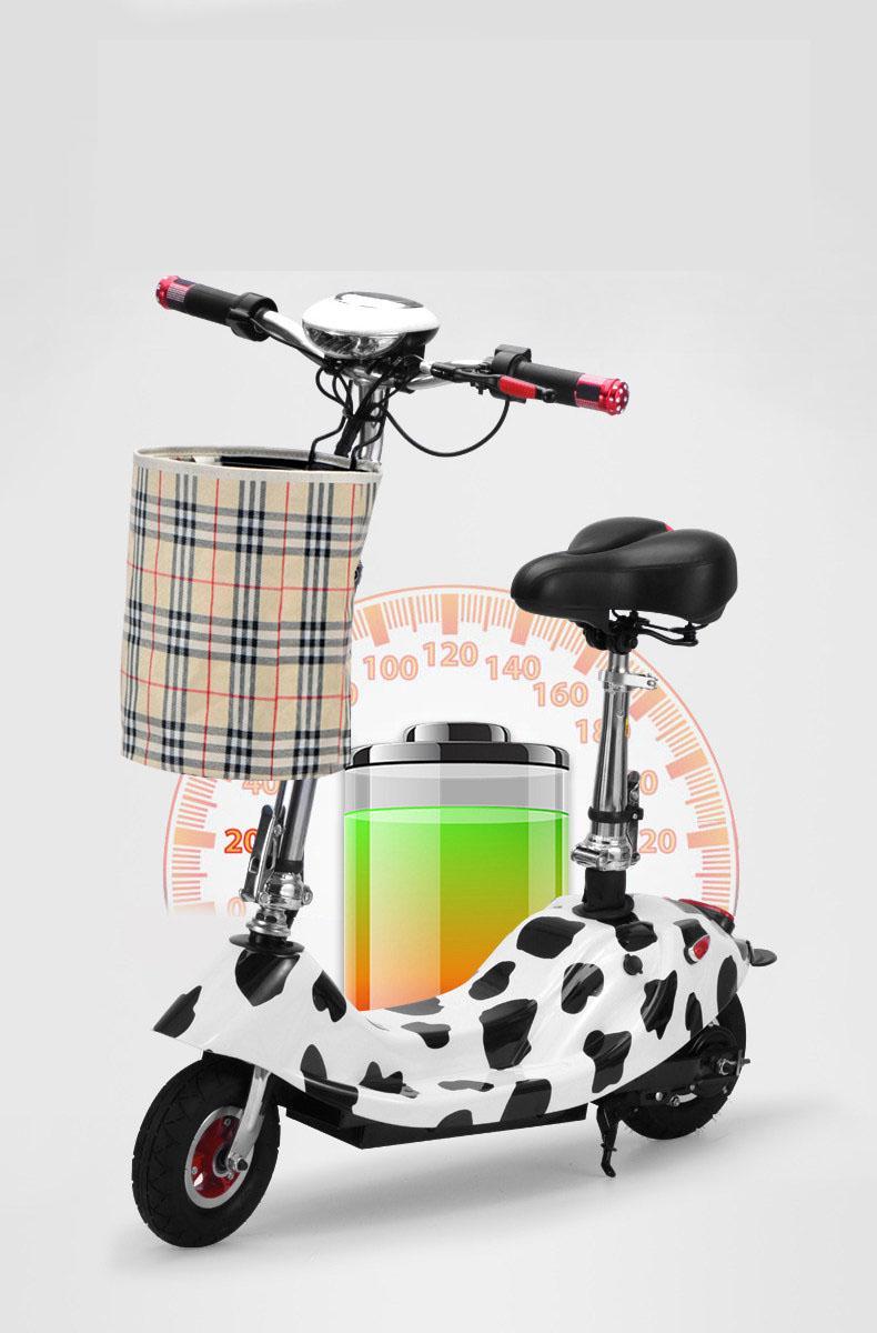 Hình ảnh Xe đạp điện mini E-Scooter gấp gọn