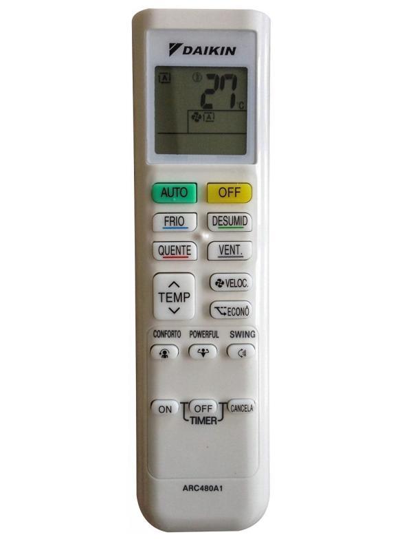 Bảng giá Remote Điều Khiển Máy Lạnh, Máy Điều Hòa DAIKIN FTKC25QVMV, FTKC35QVMV, FTKC50RVMV, ARC480A1, ARC480A2 Điện máy Pico