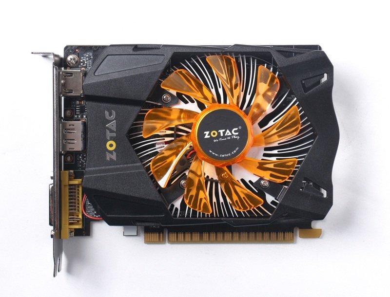 Hình ảnh Card Màn Hình Zotac GTX 750 2Gb DDR5 Không Dùng Nguồn Phụ