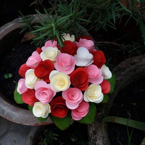 Mua Hoa hồng giấy Handmade_HM18