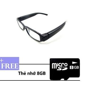 MẮT KÍNH CAMERA 720P HD THỜI TRANG TẶNG THẺ NHỚ 8G