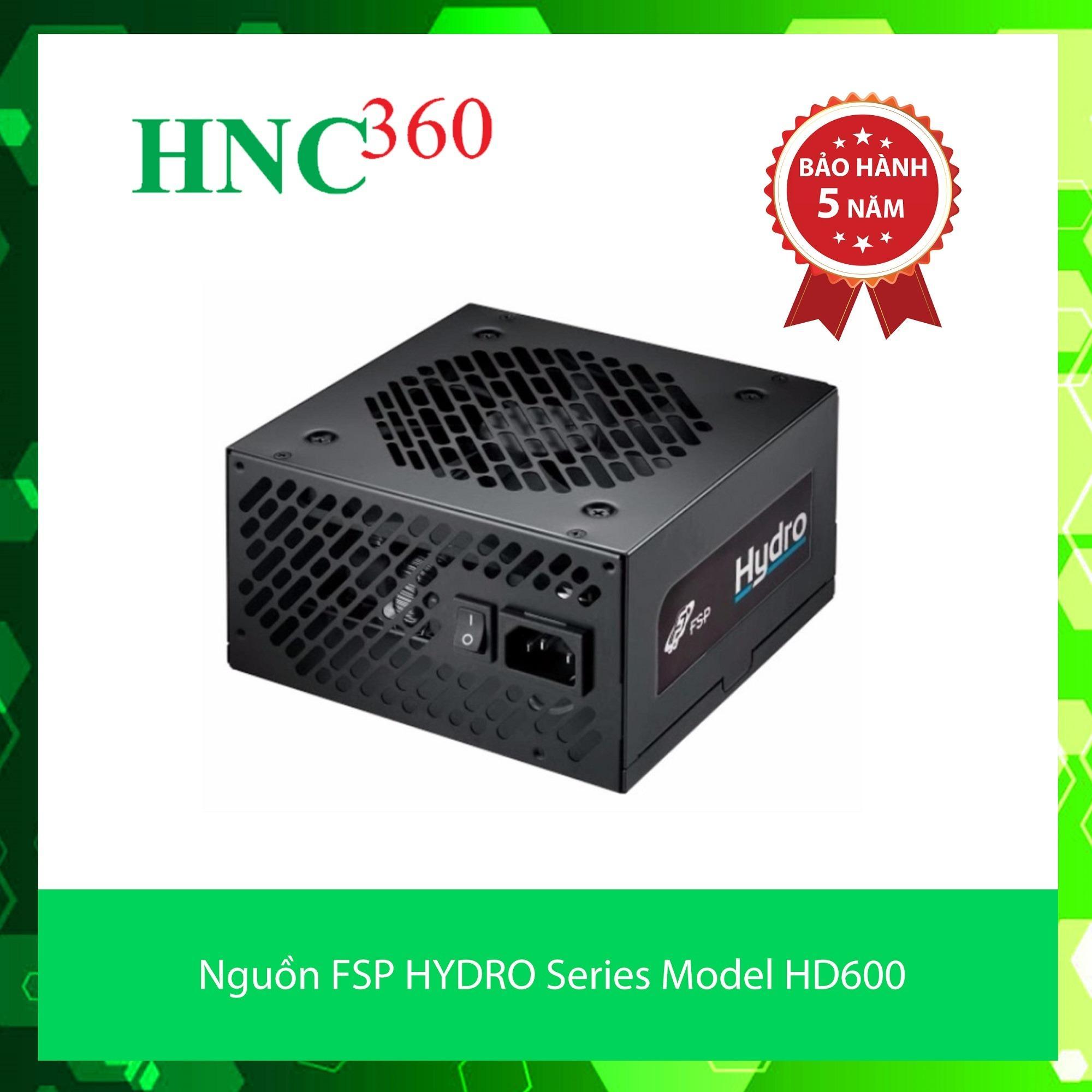 Nguồn Fsp Hydro Series Model Hd600 Active Pfc 80 Plus Bronze Fsp Rẻ Trong Hà Nội