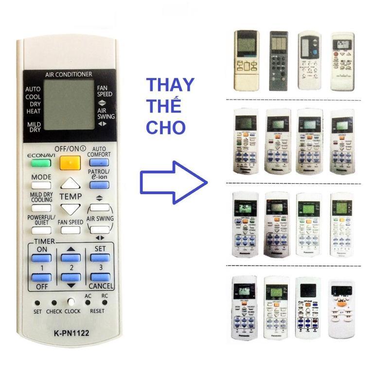 Bảng giá Remote Đa Năng Điều Khiển Nhiều Model Máy Lạnh Panasonic Inverter, E-ion, Econavi, Ion Điện máy Pico