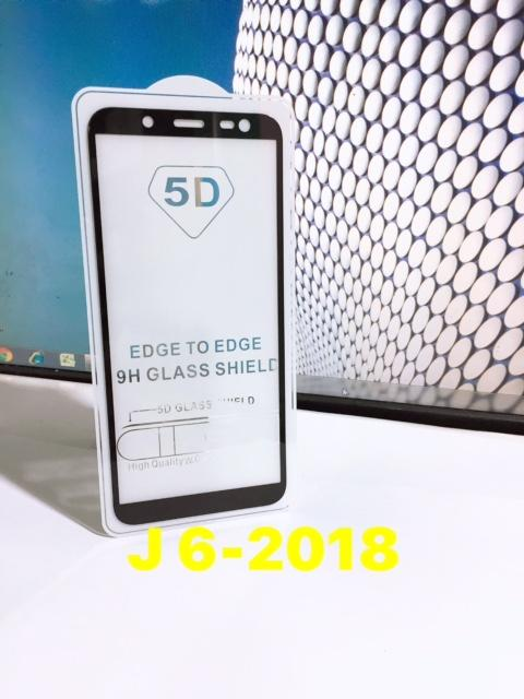 Kính cường lực Full màn hình cho Samsung J6-2018 (Đen)