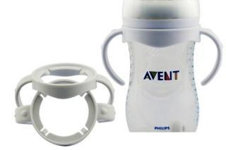 Tay cầm phụ kiện cho bình sữa, bình nước cổ rộng Avent Natural, Dr Brown thumbnail