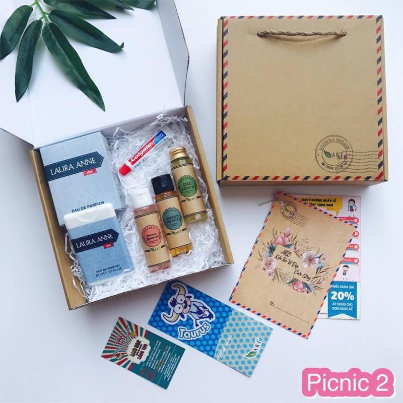 Qùa tặng phụ nữ Việt Nam TOUR BOX - PICNIC 02 nhập khẩu
