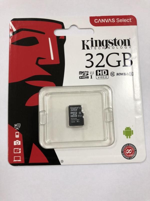 Thẻ nhớ 32GB Kingston  - Bảo hành 5 năm