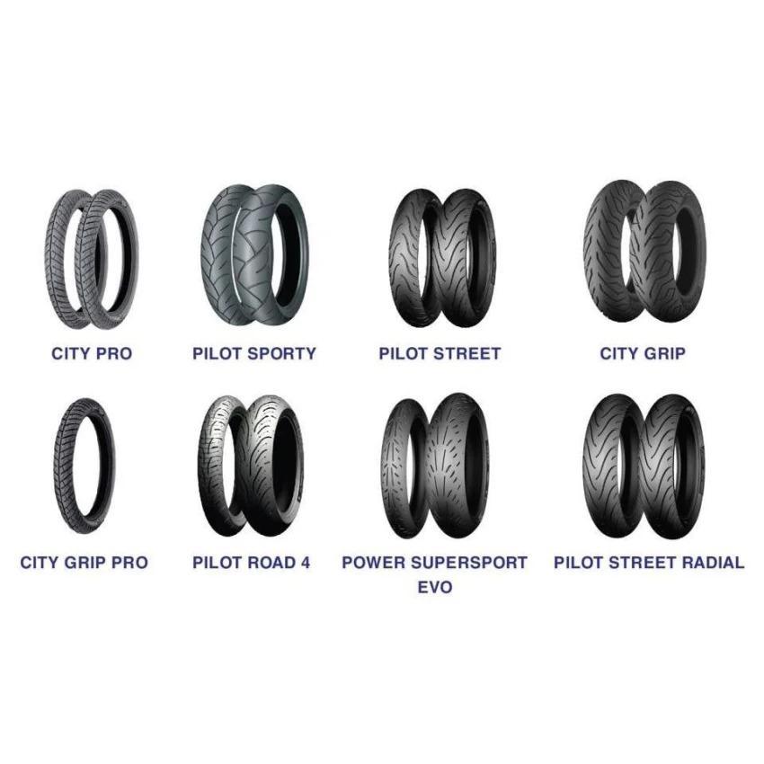Vỏ xe máy Michelin 70/90-17TT City pro