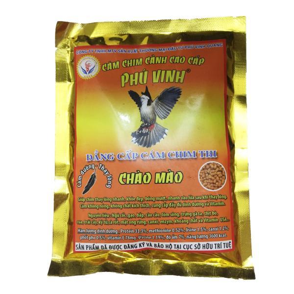 Cám Phú Vinh Chào Mào Dưỡng - Thay Lông 200g - Thức Ăn Chim Cao Cấp