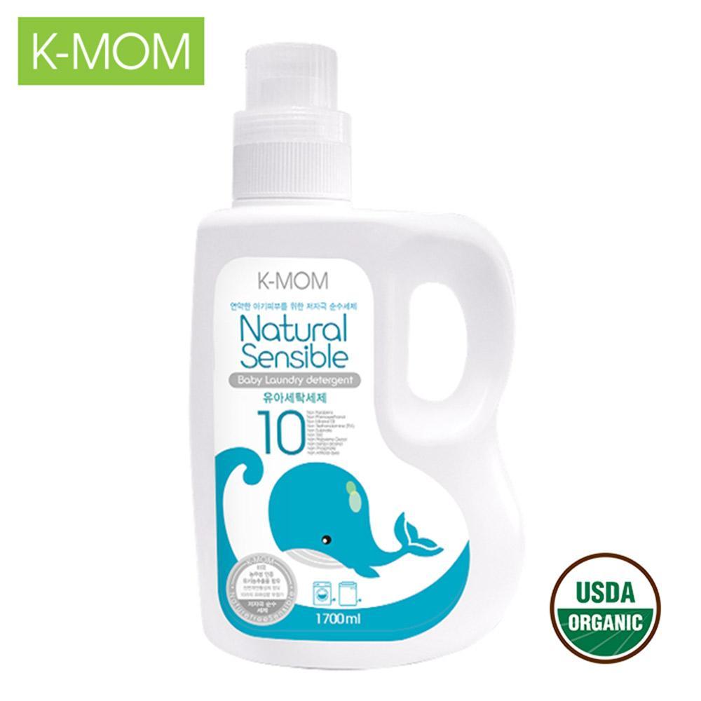 Nước giặt đồ sơ sinh hữu cơ (organic) K-Mom Hàn Quốc (1700ml)