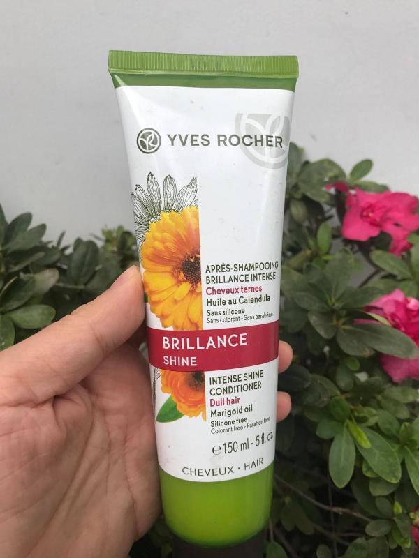 Dầu xả Brillance shine giúp tóc suôn mượt 150ml Yves Rocher