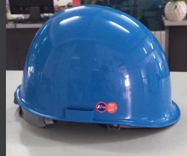 Mũ bảo hộ Hàn Quốc STOP màu xanh Blue kiiểu nhật STH-2003A