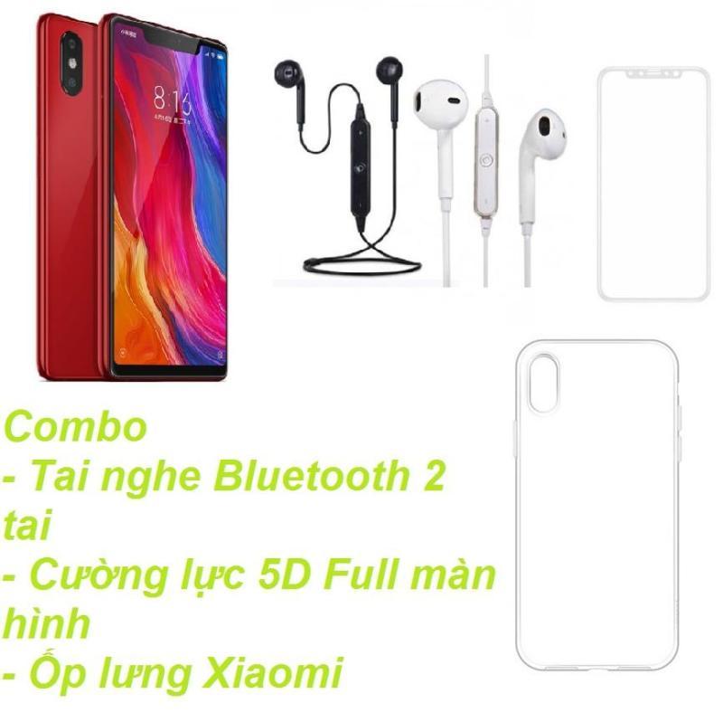 Xiaomi Mi 8SE 64GB Ram 4GB  (Đỏ) + Tai nghe Bluetooth 2 tai + Cường lực 5D Full màn hình + Ốp lưng - Hàng nhập khẩu