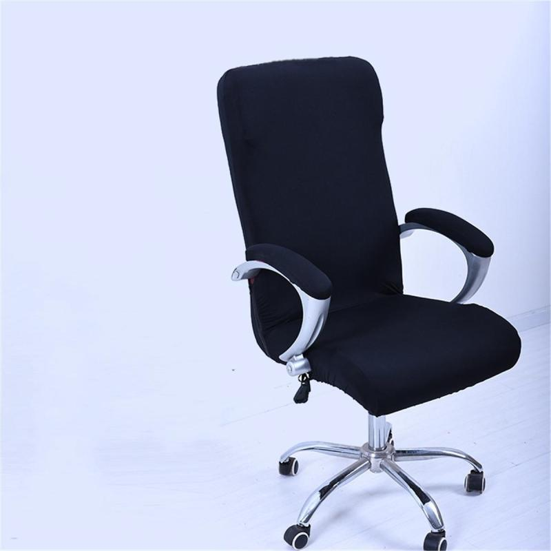 S Spandex Office Chair Cover Slipcover Armrest Cover Computer Seat Cover Stool Swivel Chair Elastic(Chair is NOT included) giá rẻ
