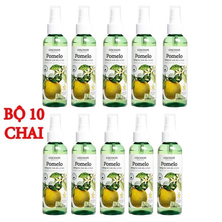Combo 10 chai Pomelo xịt dưỡng tóc tinh dầu vỏ bưởi Cocoon giá sỉ