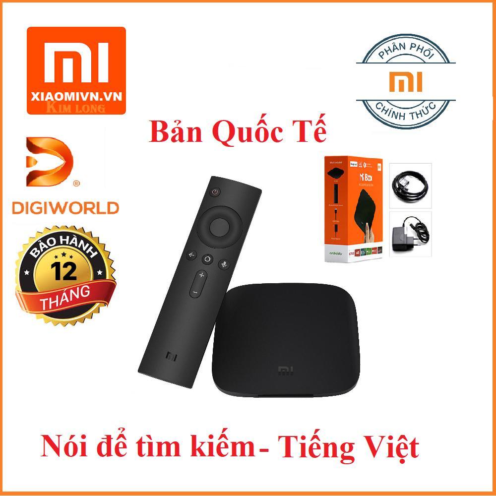 Hình ảnh Android Tivi Box Xiaomi Mibox 4K Ultra HD set-top box Global Quốc Tế Tiếng Việt