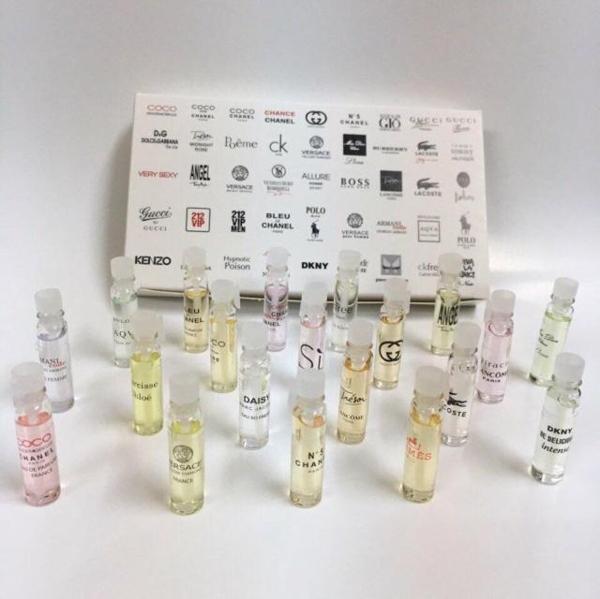 Bộ 20 chai nước hoa mini dùng cho cả Nam và Nữ