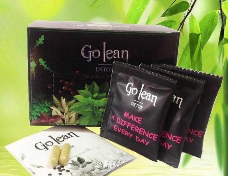 Trà giảm cân Golean detox chính hãng mẫu mới