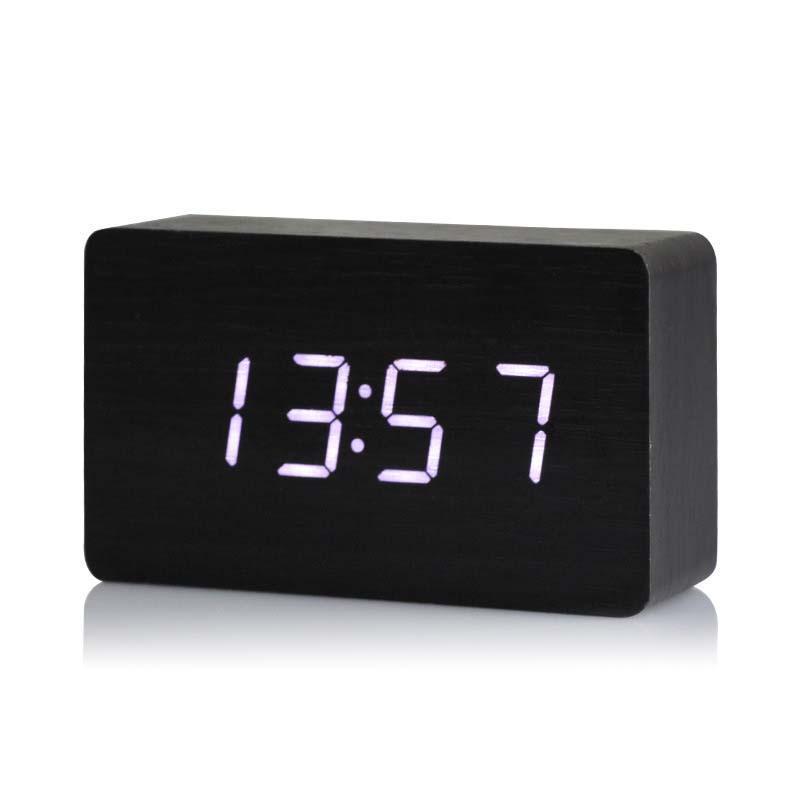 Bán Đồng Hồ Báo Thức Điện Tử, Đồng hồ báo thức hình chữ nhật DH06, bán đồng hồ báo thức - Đồng Hồ Báo Thức Thời Trang   Top 5 đồng hồ báo thức để bàn bạn nên mua ngay bây giờ bán chạy
