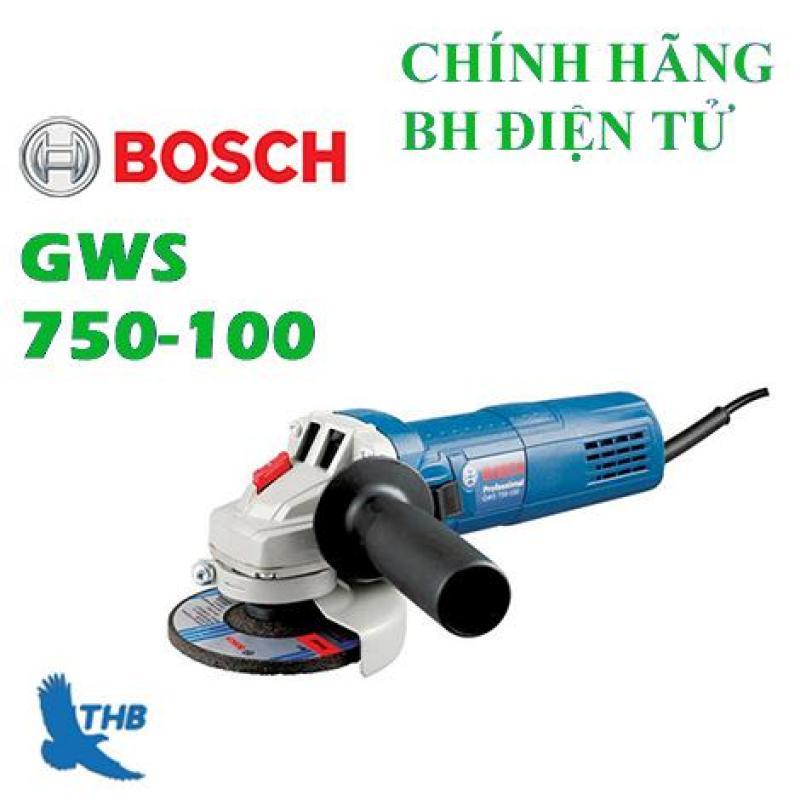 Máy mài góc Bosch GWS 750-100 + Đá mài,đá cắt 100