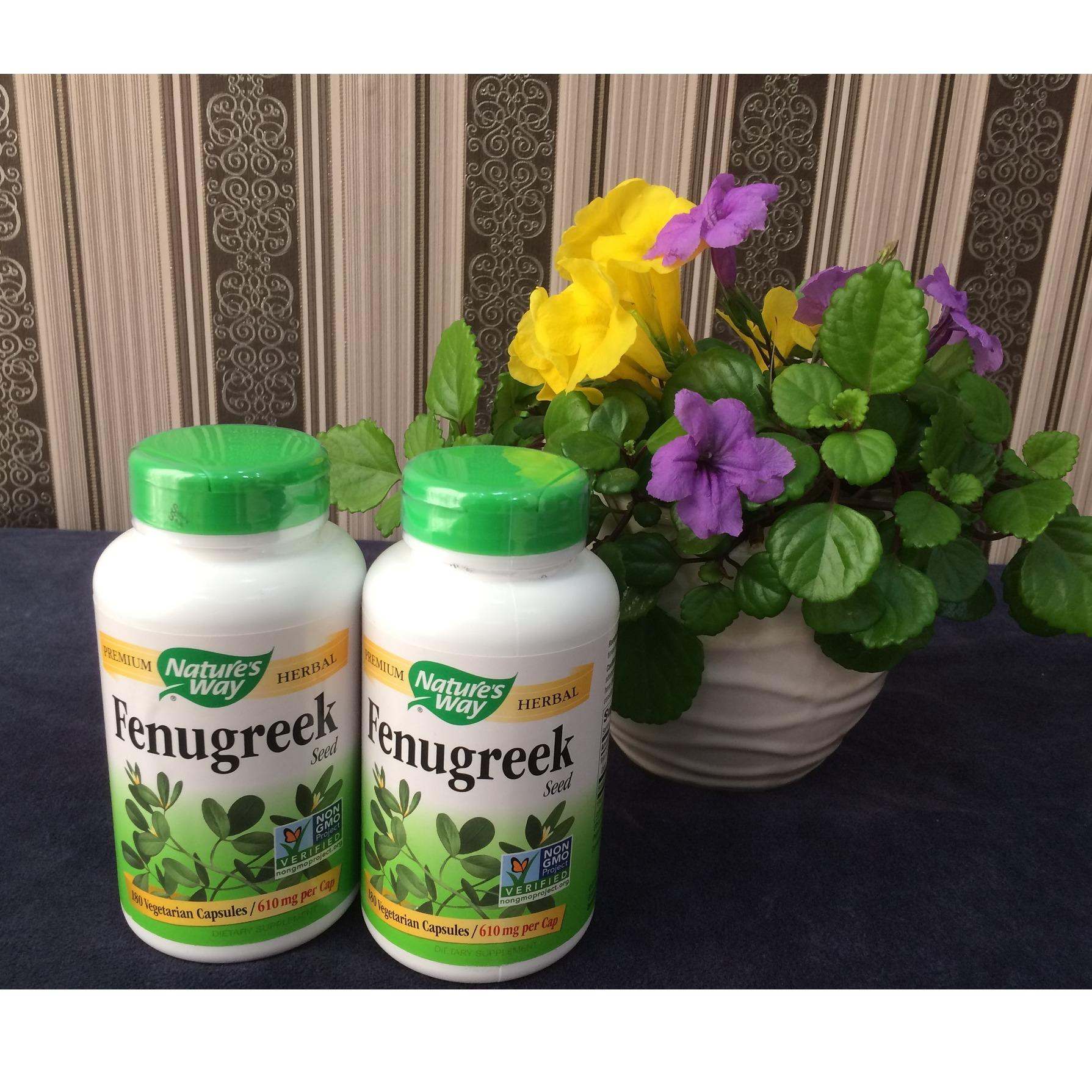 Viên uống lợi sữa Fenugreek Seed 180 viên