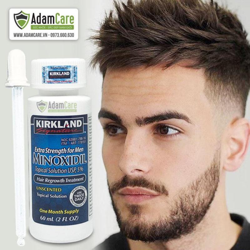 Thuốc mọc râu Minoxidil Kirkland Signature cao cấp