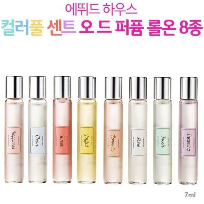 Nước hoa dạng lăn Etude House Colorful Scent Eau De Perfume 7ml nhập khẩu