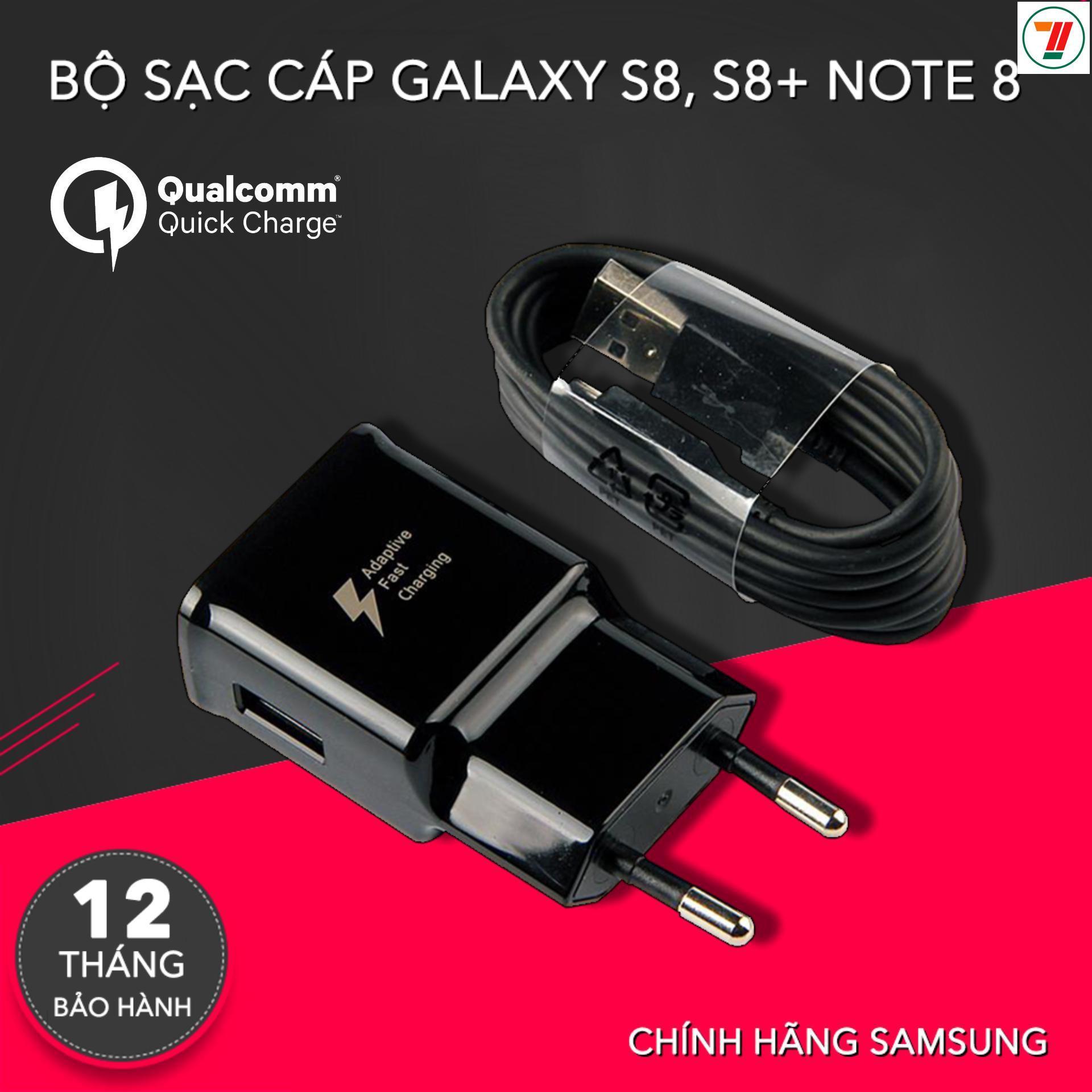 Củ Sạc Nhanh Kèm Cáp Sạc Nhanh Type C Samsung Galaxy S8/ S8 Plus Và Các Sản Phẩm Sử Dụng Cáp Sạc đầu Cắm Type C / Sản Xuất Tại Việt Nam Đang Hạ Giá tại Lazada