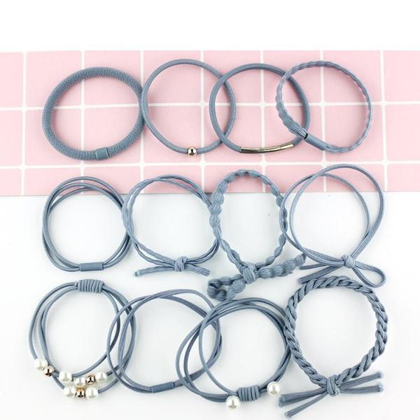 Giá bán Set 12 dây buộc tóc Hàn Quốc   sti1651