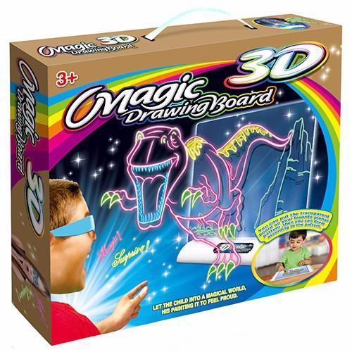 Mua Bộ tranh màu vẽ ma thuật kèm kính Magic 3D Drawing Board