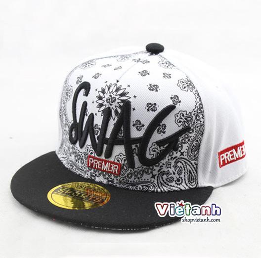 Mũ nón hè trẻ em Hiphop SWAG cho bé trai - MH40