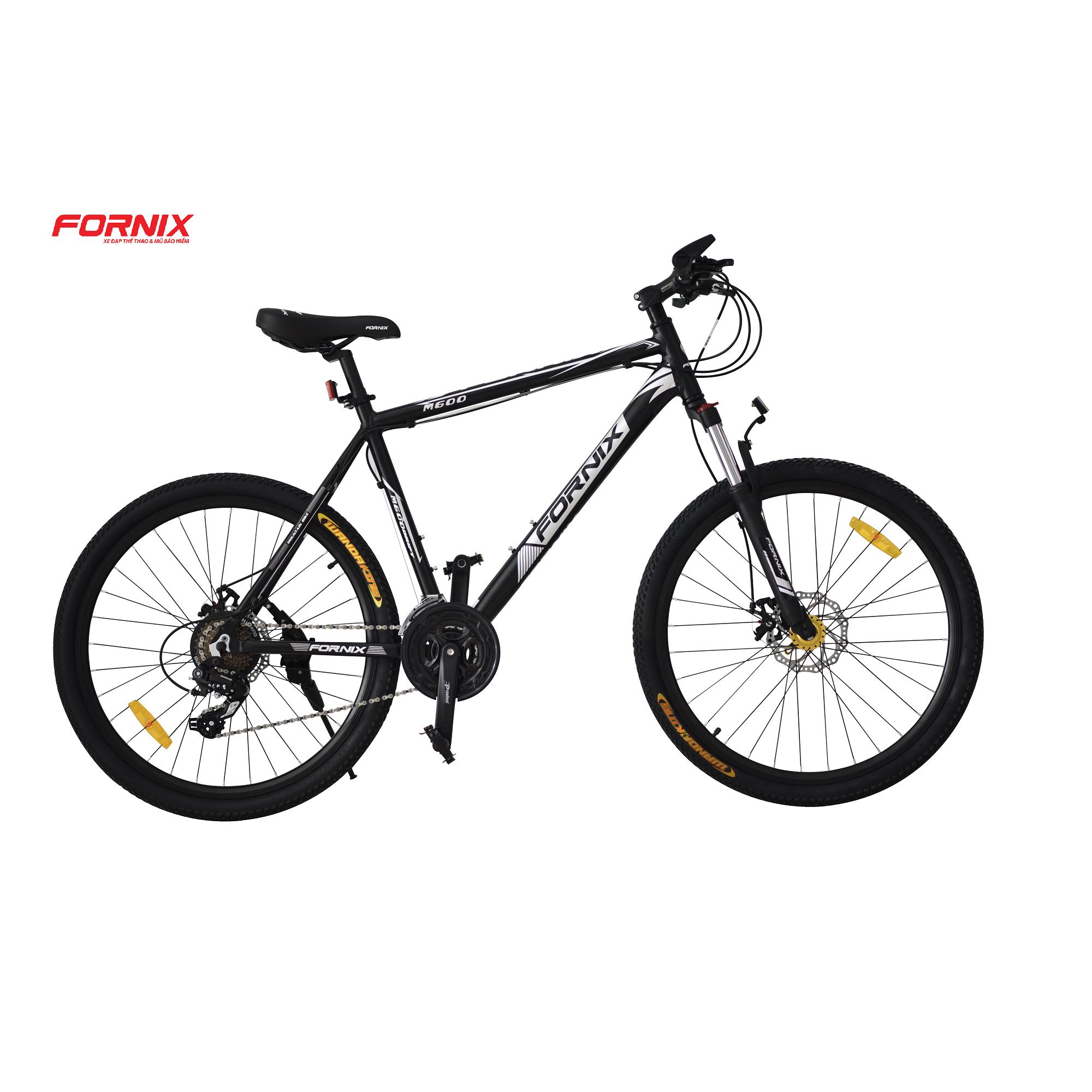 Xe đạp địa hình thể thao Fornix M600 (Đen bạc)