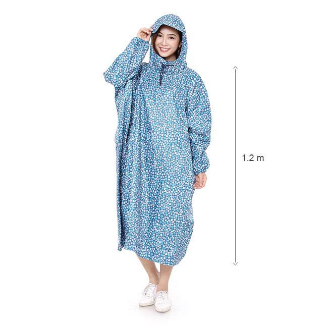 Áo mưa kiểu bít vải dù siêu nhẹ (màu ngẫu nhiên)