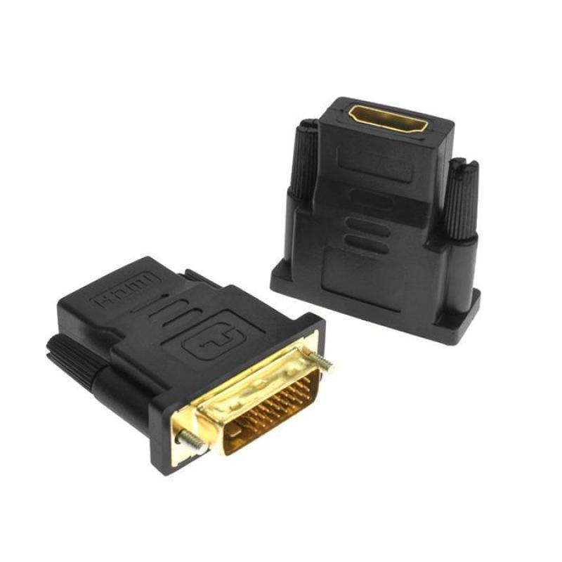 Bảng giá Đầu chuyển DVI chuẩn 24 + 1 chân sang HDMI mã DTH01 Phong Vũ