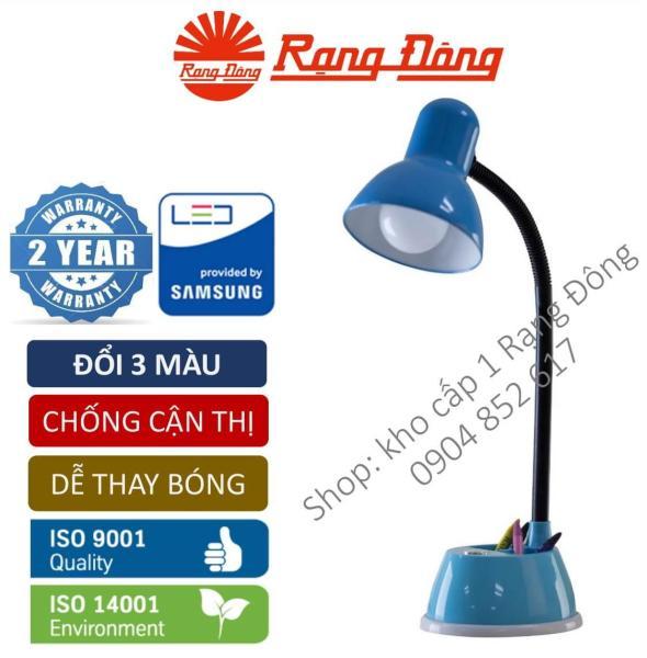 Đèn bàn LED chống cận đổi 3 màu 7W Rạng Đông Samsung chipLED. RL.25.DM3 Mới