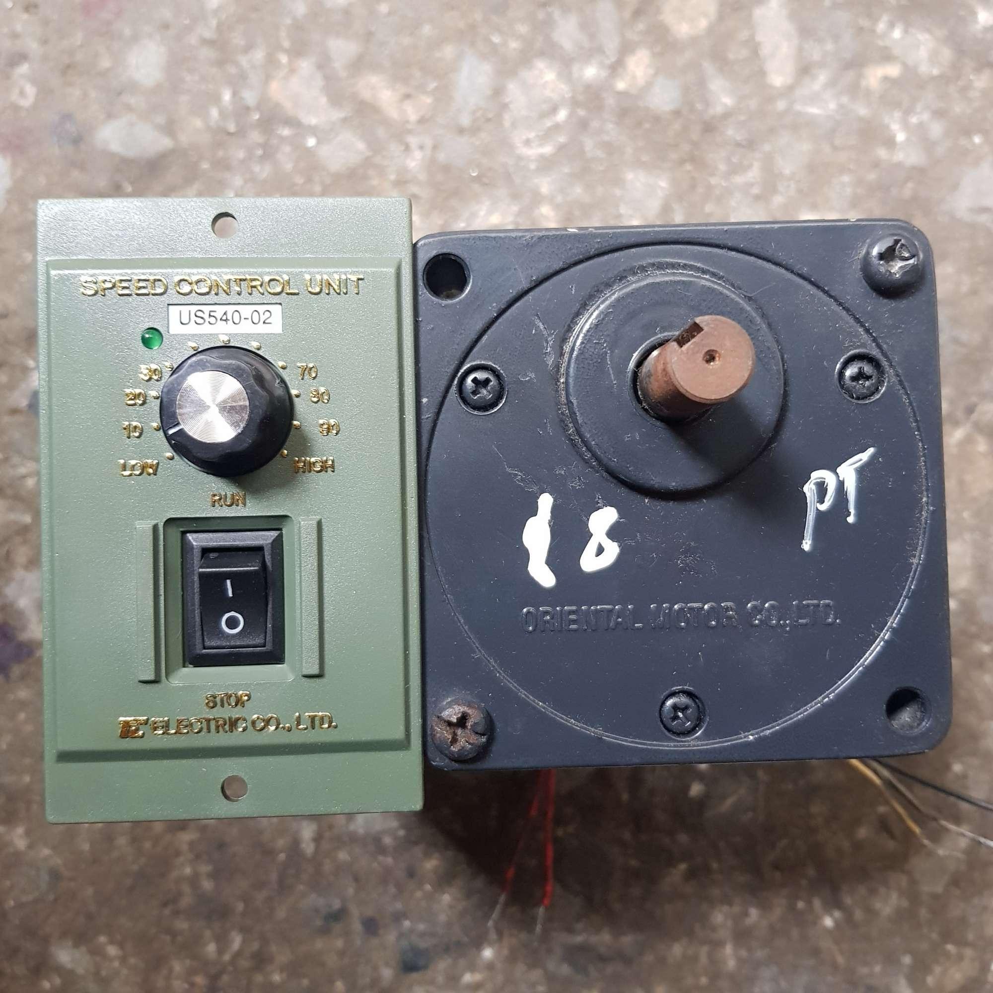 Motor giảm tốc 40w điện 220v kèm bộ điều khiển tốc độ