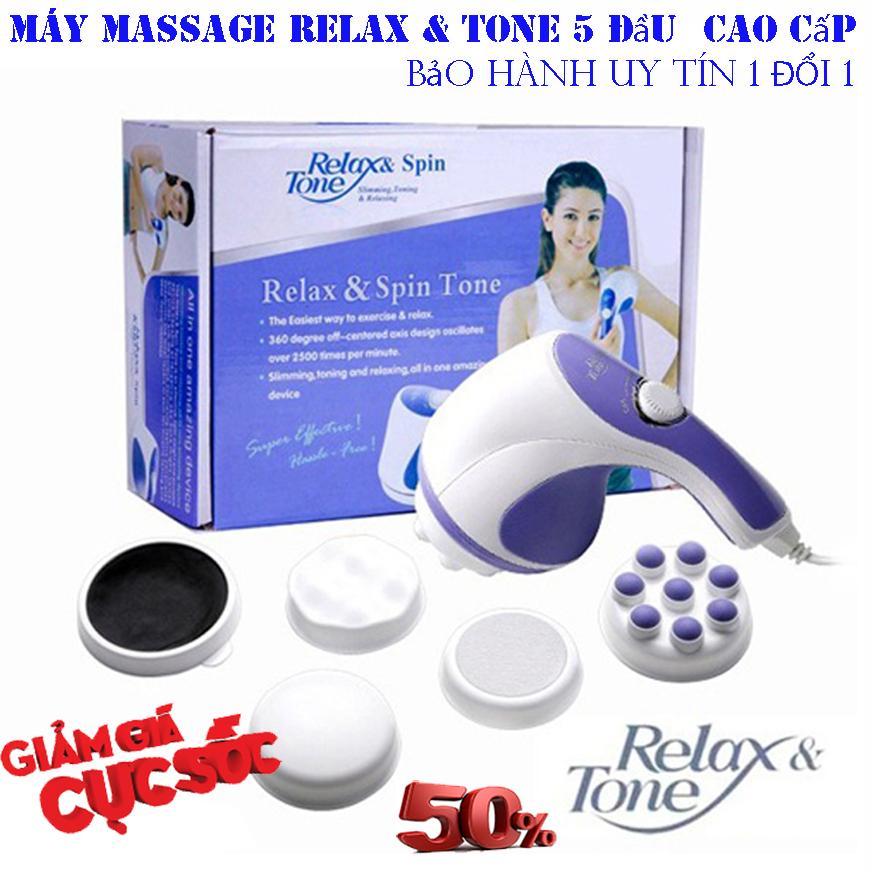 đai tan mỡ bụng - PPK 273 - Máy Massage Cầm Tay Relax & Spin Tone Chất Lượng Cao, Siêu Tiện Lợi, Giá Tốt - Massage Toàn Thân Giá Rẻ - Giúp lưu thông tuần hoàn khí huyết - giảm căng thẳng, đau nhức-BH UY TÍN 1 ĐỔI 1