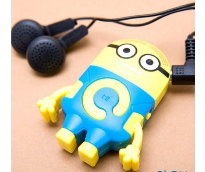 Máy nghe nhạc MP3 Minion - 2108(giao mầu ngẫu nhiên)