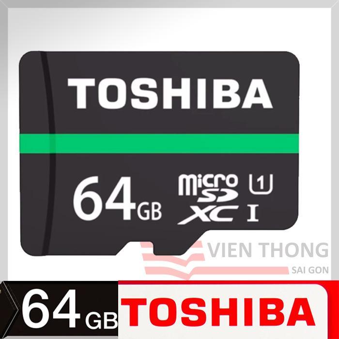 Thẻ nhớ MicroSDHC Toshiba M202 UHS-I U1 64GB 80MB/s (Đen)