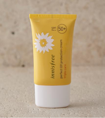 Kem chống nắng Innisfree Perfect UV Protection Cream Triple-Care 50ml