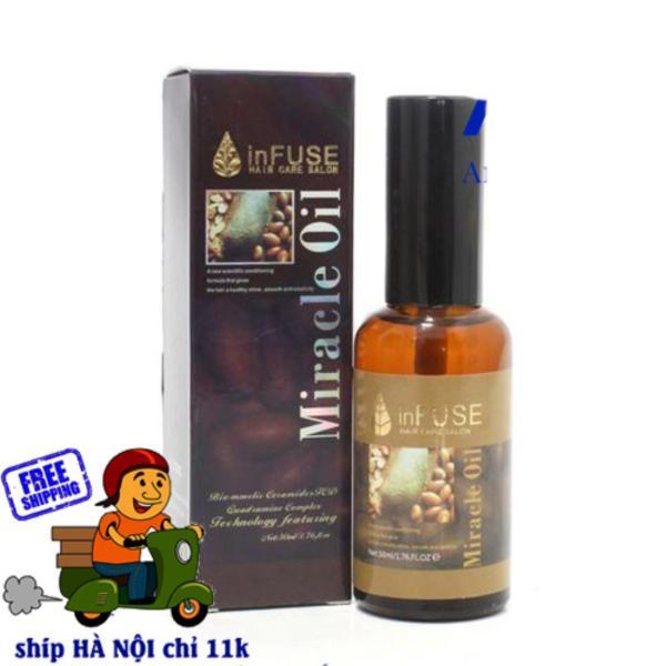 Tinh dầu dưỡng tóc MIRACLE OIL INFUSE 50ml giá rẻ