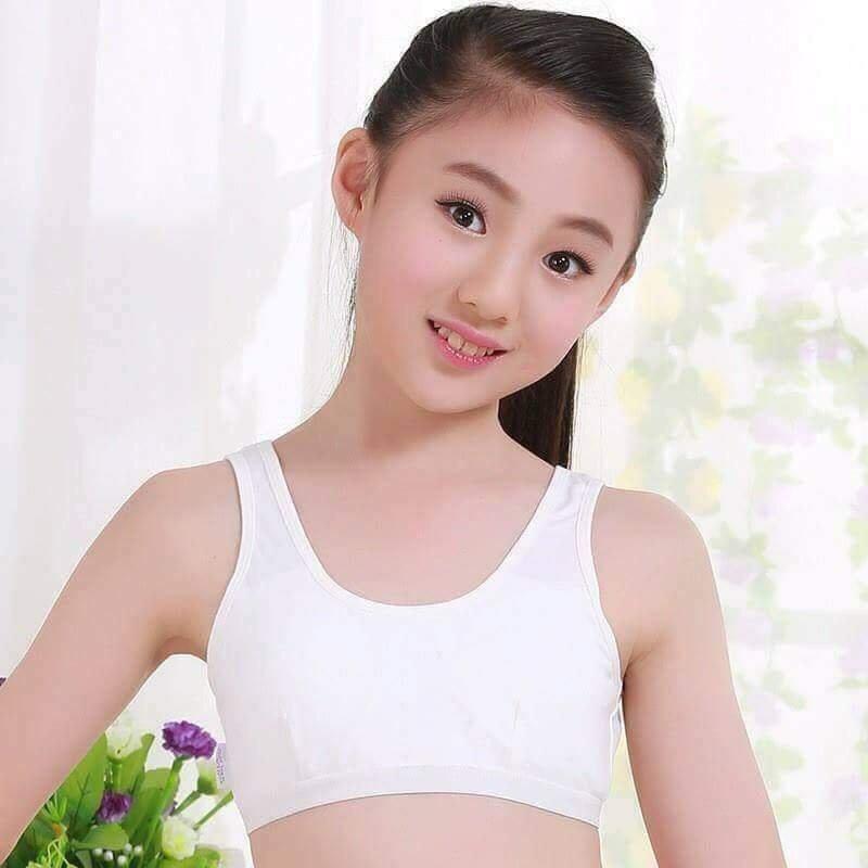 Sỉ lẻ Combo 3 áo lót học sinh ( màu trắng ) Nhật Bản