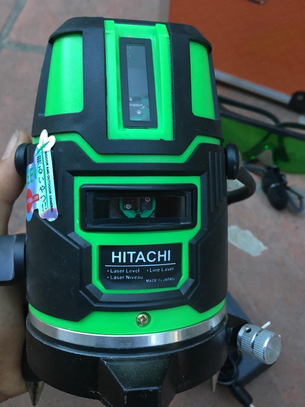 Máy bắn laze HITACHI 5tia xanh (không kèm chân)