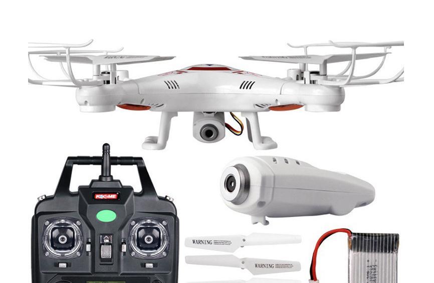 Hình ảnh Flycam X5C-1 phiên bản nâng cấp tặng kèm pin dự phòng (Sản phẩm có kèm camera)
