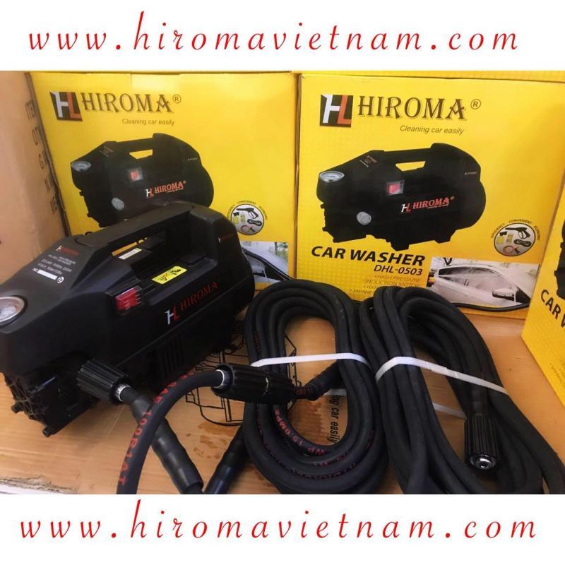Dây áp lực NỐI DÀI THÊM theo máy HIROMA dùng để nối dài thêm dây áp lực 2 đầu ren 21mm