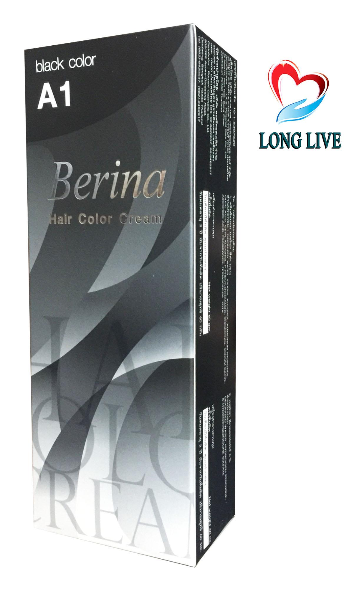 Thuốc nhuộm tóc Berina A1 - Thái Lan (đen) chính hãng