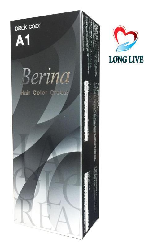 Thuốc nhuộm tóc Berina A1 - Thái Lan (đen) cao cấp