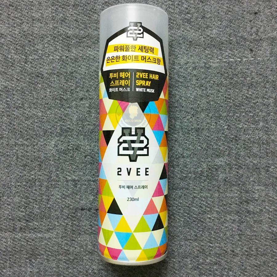 Gôm Xịt Tóc 2Vee Hàn Quốc nhập khẩu